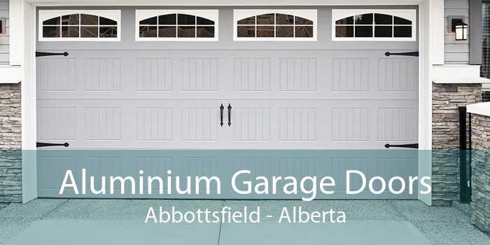 Aluminium Garage Doors Abbottsfield - Alberta
