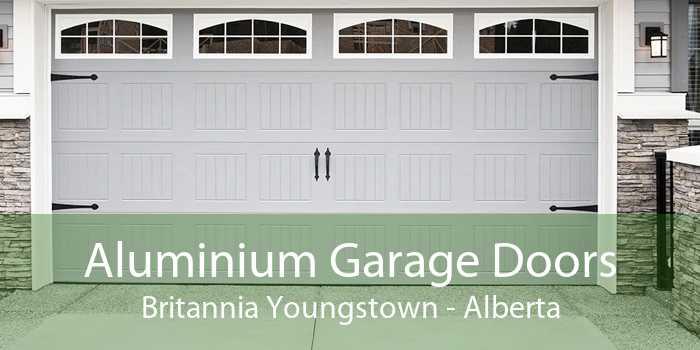 Aluminium Garage Doors Britannia Youngstown - Alberta