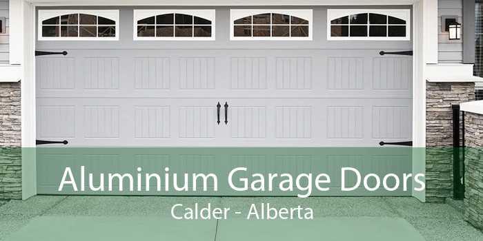 Aluminium Garage Doors Calder - Alberta