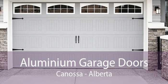 Aluminium Garage Doors Canossa - Alberta