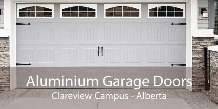 Aluminium Garage Doors Clareview Campus - Alberta