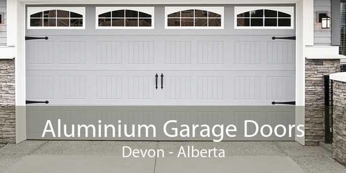 Aluminium Garage Doors Devon - Alberta
