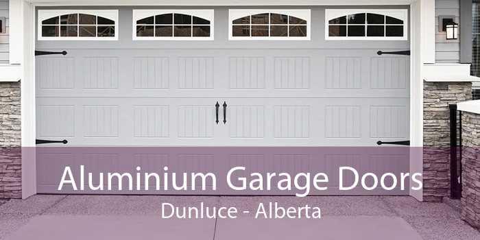 Aluminium Garage Doors Dunluce - Alberta