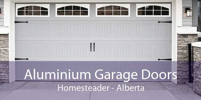 Aluminium Garage Doors Homesteader - Alberta