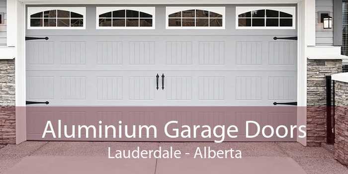 Aluminium Garage Doors Lauderdale - Alberta