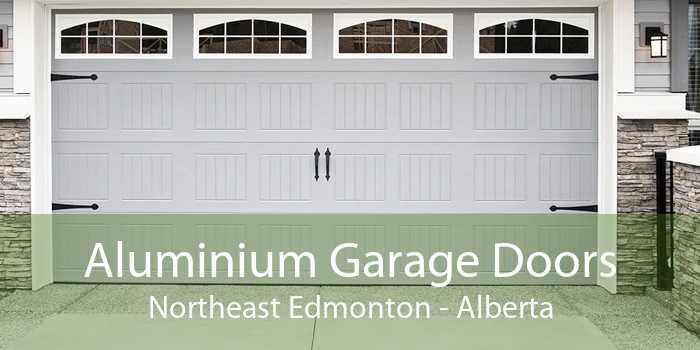 Aluminium Garage Doors Northeast Edmonton - Alberta