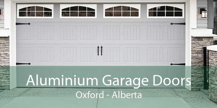 Aluminium Garage Doors Oxford - Alberta