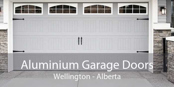 Aluminium Garage Doors Wellington - Alberta