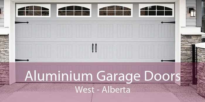 Aluminium Garage Doors West - Alberta