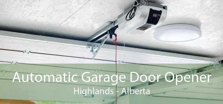 Automatic Garage Door Opener Highlands - Alberta