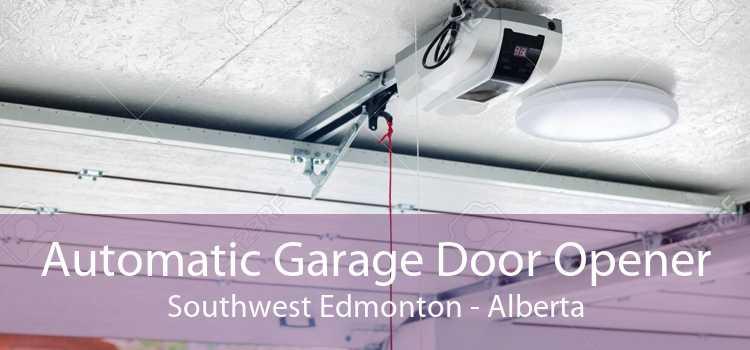 Automatic Garage Door Opener Southwest Edmonton - Alberta