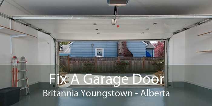 Fix A Garage Door Britannia Youngstown - Alberta