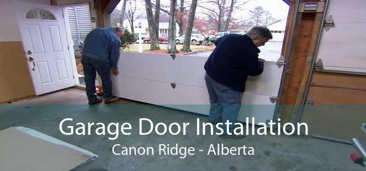 Garage Door Installation Canon Ridge - Alberta