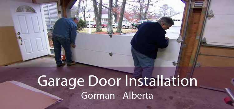 Garage Door Installation Gorman - Alberta