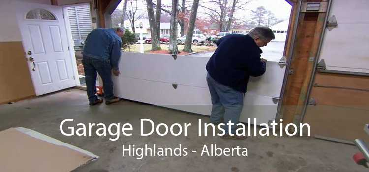 Garage Door Installation Highlands - Alberta