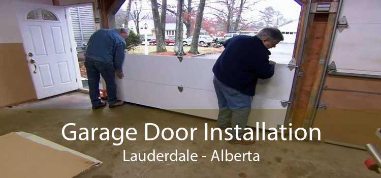 Garage Door Installation Lauderdale - Alberta