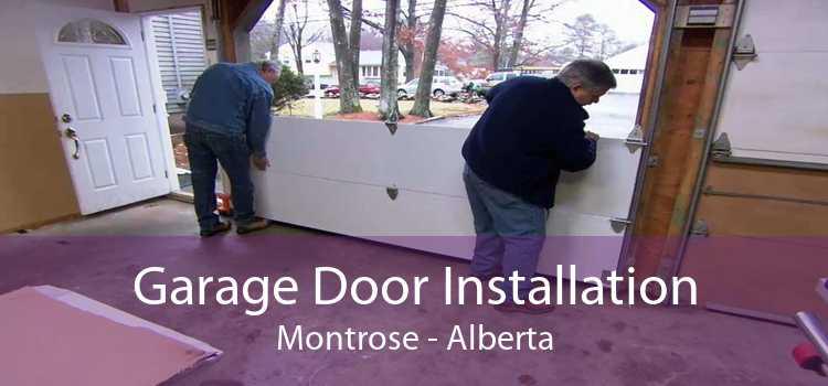 Garage Door Installation Montrose - Alberta