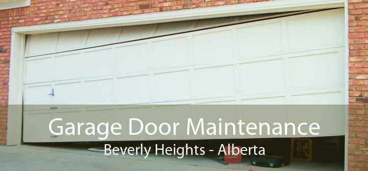 Garage Door Maintenance Beverly Heights - Alberta
