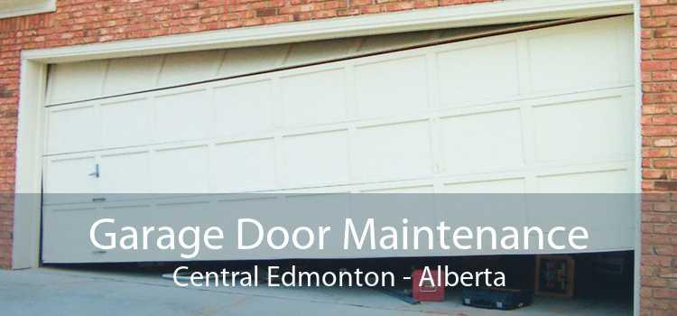 Garage Door Maintenance Central Edmonton - Alberta