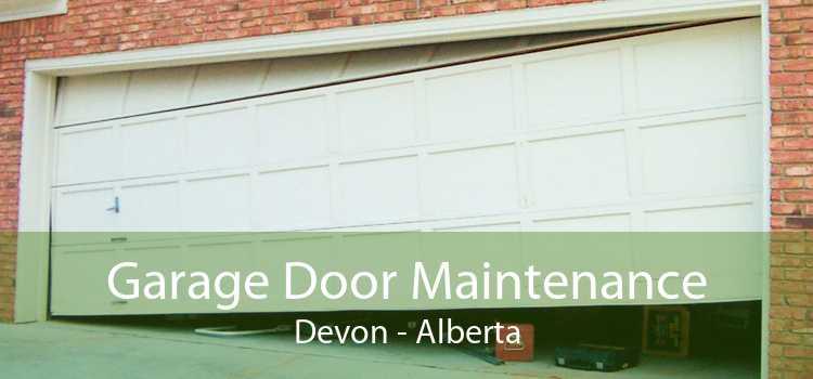 Garage Door Maintenance Devon - Alberta