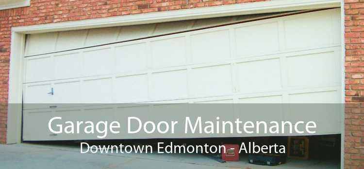 Garage Door Maintenance Downtown Edmonton - Alberta