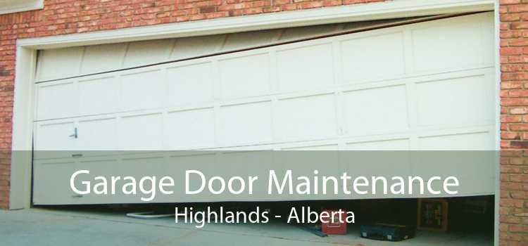 Garage Door Maintenance Highlands - Alberta