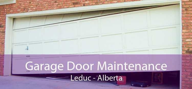 Garage Door Maintenance Leduc - Alberta