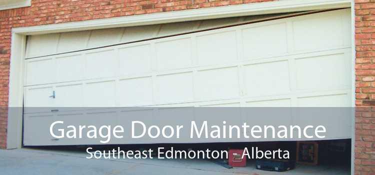 Garage Door Maintenance Southeast Edmonton - Alberta