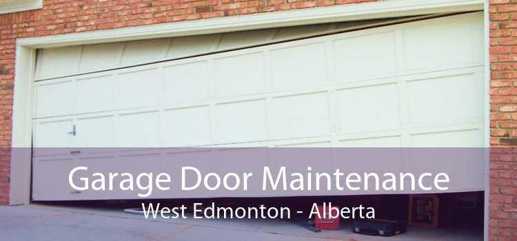 Garage Door Maintenance West Edmonton - Alberta