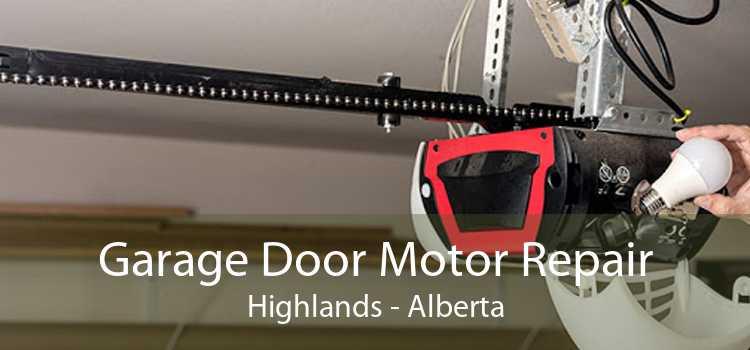 Garage Door Motor Repair Highlands - Alberta