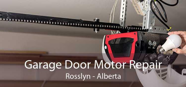 Garage Door Motor Repair Rosslyn - Alberta