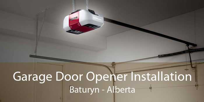 Garage Door Opener Installation Baturyn - Alberta