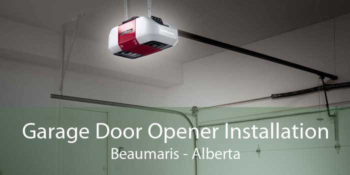 Garage Door Opener Installation Beaumaris - Alberta