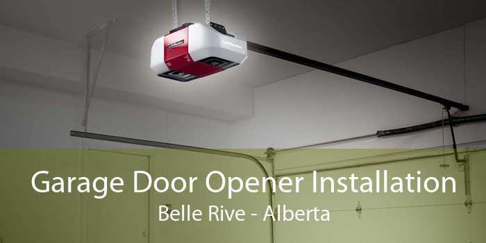 Garage Door Opener Installation Belle Rive - Alberta