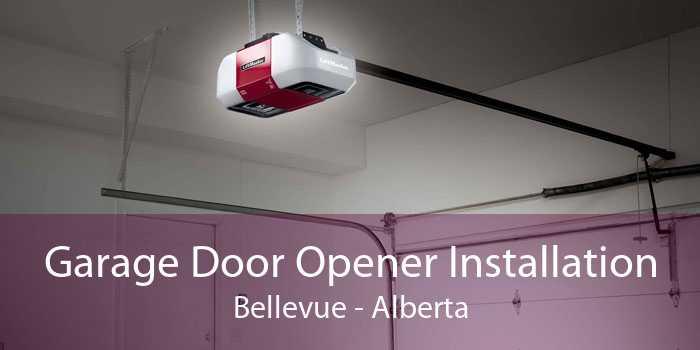 Garage Door Opener Installation Bellevue - Alberta