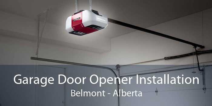 Garage Door Opener Installation Belmont - Alberta