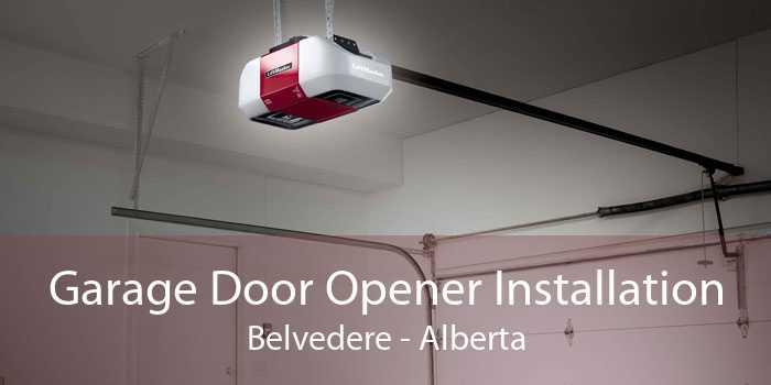 Garage Door Opener Installation Belvedere - Alberta