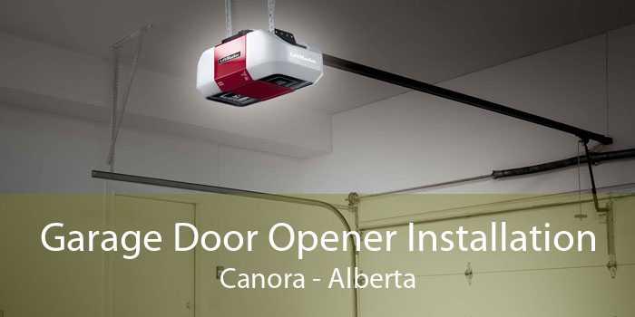Garage Door Opener Installation Canora - Alberta