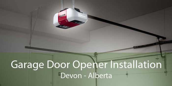 Garage Door Opener Installation Devon - Alberta