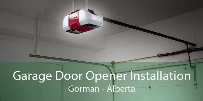 Garage Door Opener Installation Gorman - Alberta