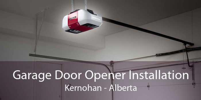 Garage Door Opener Installation Kernohan - Alberta