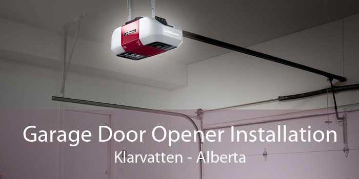Garage Door Opener Installation Klarvatten - Alberta