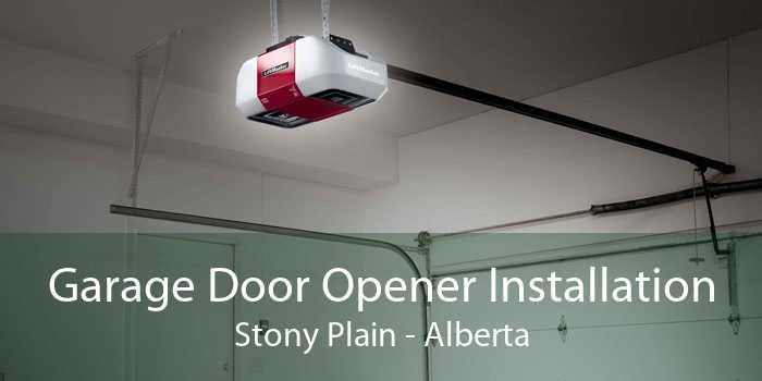 Garage Door Opener Installation Stony Plain - Alberta