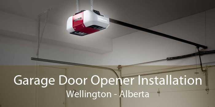 Garage Door Opener Installation Wellington - Alberta