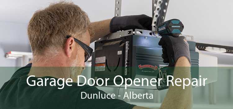 Garage Door Opener Repair Dunluce - Alberta