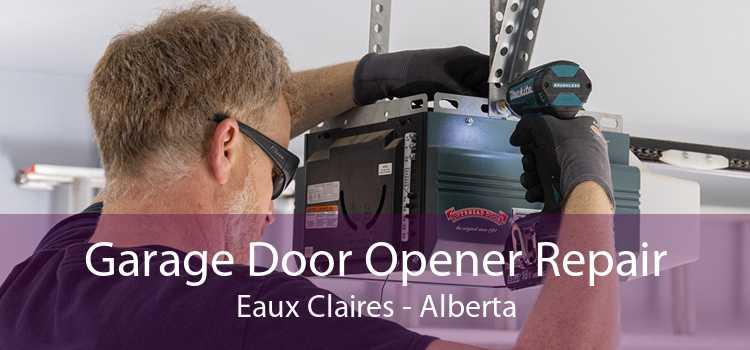 Garage Door Opener Repair Eaux Claires - Alberta
