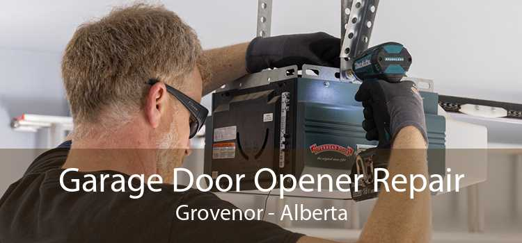 Garage Door Opener Repair Grovenor - Alberta
