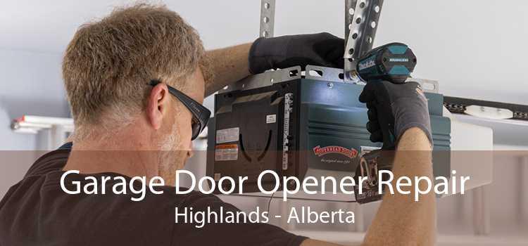 Garage Door Opener Repair Highlands - Alberta