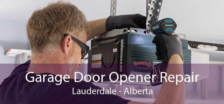 Garage Door Opener Repair Lauderdale - Alberta