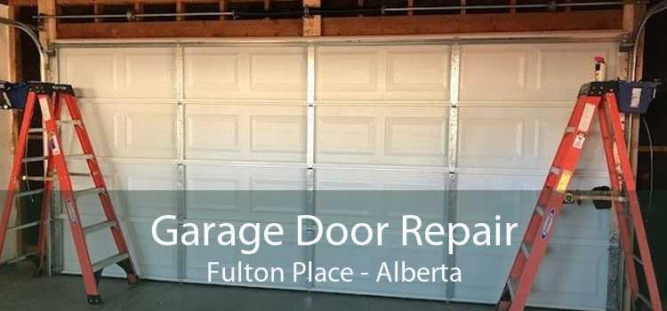 Garage Door Repair Fulton Place - Alberta